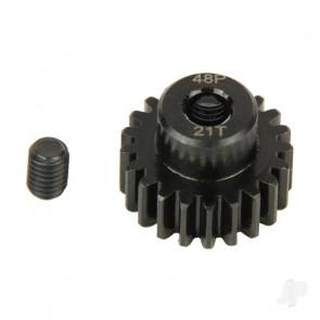 Radient Pinion Gear, 48P, Steel 21T