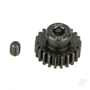 Radient Pinion Gear, 48P, Steel 22T
