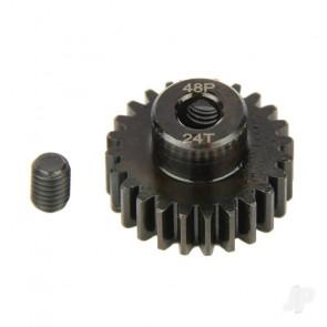 Radient Pinion Gear, 48P, Steel 24T