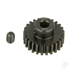 Radient Pinion Gear, 48P, Steel 25T