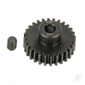 Radient Pinion Gear, 48P, Steel 28T