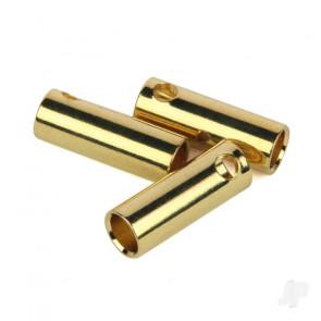 Radient Bullet Connectors, 5mm Female (3 pcs)