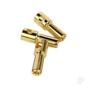Radient Bullet Connectors, 5mm Male (3 pcs)