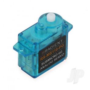 Radient RS-SM118-PG Sub-Micro Servo 6g Analog