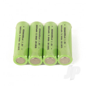 Radient NiMH Battery 1.2V 2200mAh Rechargeable AA Cells (4pcs)