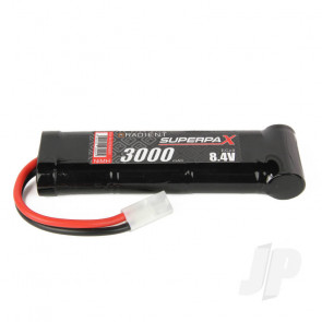 Radient NiMH Battery 8.4V 3000mAh SC 6-1 Stick Pack Tamiya Connector