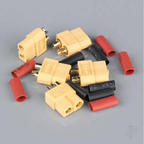 Radient XT60 Female (Battery End) including Heat Shrink (5 pcs)