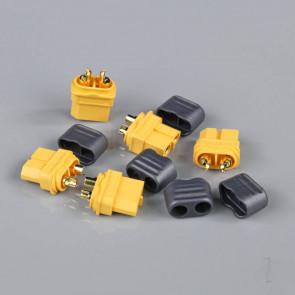Radient XT60 Female with Cap End (Battery End) (5 pcs)