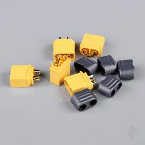 Radient XT60 Male with Cap End (ESC End) (5 pcs)