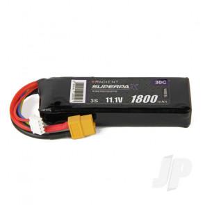 Radient LiPo Battery 3S 1800mAh 11.1V 30C XT60 Connector Plug