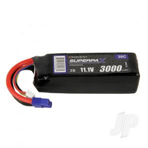 Radient LiPo Battery 3S 3000mAh 11.1V 30C EC3 Connector Plug