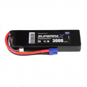 Radient 3S 3000mAh 11.1V 30C LiPo Battery w/ EC3 Connector Plug