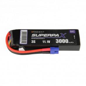 Radient 3S 3000mAh 11.1V 50C LiPo Battery w/ EC3 Connector Plug