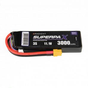 Radient 3S 3000mAh 11.1V 50C LiPo Battery w/ XT60 Connector Plug