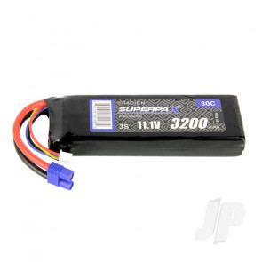 Radient LiPo Battery 3S 3200mAh 11.1V 30C EC3 Connector Plug