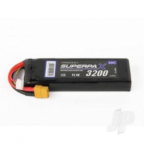 Radient LiPo Battery 3S 3200mAh 11.1V 30C XT60 Connector Plug