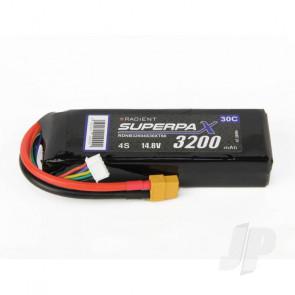 Radient LiPo Battery 4S 3200mAh 14.8V 30C XT60 Connector Plug
