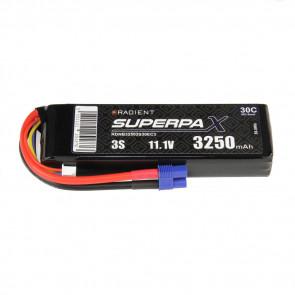 Radient 3S 3250mAh 11.1V 30C LiPo Battery w/ EC3 Connector Plug