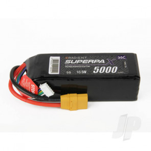 Radient LiPo Battery 5S 5000mAh 18.5V 35C XT90 Connector Plug