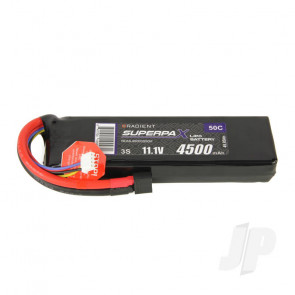Radient LiPo Battery 3S 4500mAh 11.1V 50C Deans HCT T-style Connector Plug