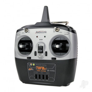 Radiolink T8FB-BT 2.4GHz 8-Ch Transmitter w/Bluetooth + 2x Receivers - Mode 2