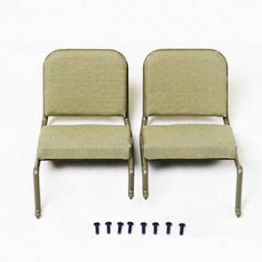 Roc Hobby 1:6 1941 Mb Scaler Front Seat Assembly (1 Pair)