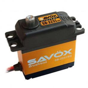 SAVOX SB2231SG HV DIGITAL BRUSHLESS SERVO 40KG/0.10s@7.4V w/HORN