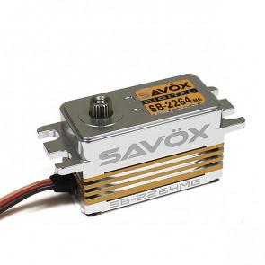 SAVOX SB2264MG HV DIGITAL BRUSHLESS LOW PROFILE SERVO 15KG/0.085s@7.4V