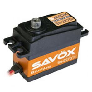 SAVOX SB2270SG HV DIGITAL BRUSHLESS SERVO 32KG/0.12s@7.4V