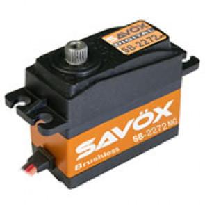 SAVOX SB2272MG HV DIGITAL BRUSHLESS TAIL SERVO 7KG/0.035s@7.4V