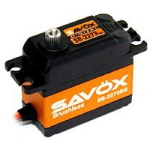 SAVOX SB2273SG HV DIGITAL BRUSHLESS SERVO 28KG/0.095s@7.4V