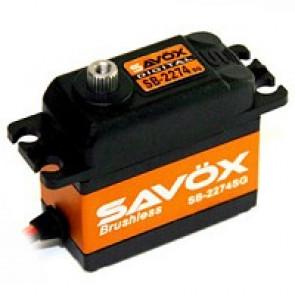 SAVOX SB2274SG HV DIGITAL BRUSHLESS SERVO 25KG/0.08s@7.4V