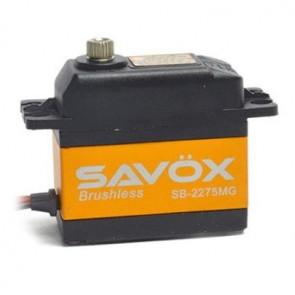 SAVOX SB2275MG HV DIGITAL BRUSHLESS SERVO 9KG/0.042s@7.4V