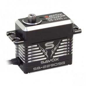 SAVOX SB2290SG HV CNC MONSTER BRUSHLESS SERVO 50KG/0.13s@7.4V