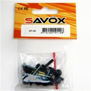 SAVOX RUBBER SPACER SET FOR ALUM. SA1283SG CAR INSTALATION