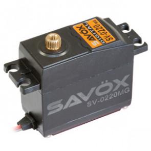 SAVOX SV0220MG HV DIGITAL SERVO 8KG/0.13s@7.4V