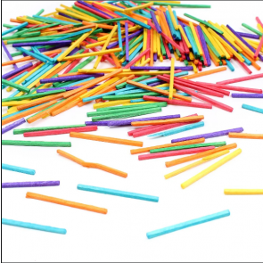 Hobby's Big Bag of Multicoloured Matches (2000) | Colour Matchsticks for Model & Craft