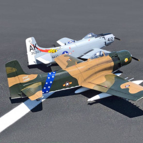 Seagull Skraider 35 - 60cc 86in Camo RC Model Plane