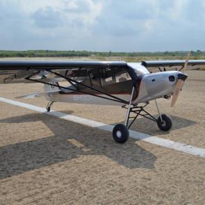 Seagull Shock Cub 38-50cc (102in) (Silver) STOL Bush RC Aeroplane