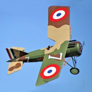 "Seagull Morane-Saulnier AI French WW1 Fighter 1/3 50cc (103"") ARF RC Model Plane"