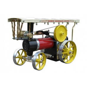 Mamod Live Steam Showmans Traction Engine with Dynamo & Lights - Ready Built Working Model