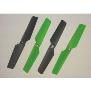 Spare Set of 4 Rotor Blades Propellers for Cherlead Space Quadcopter Drone