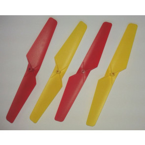 Spare Set of 4 Rotor Blades Propellers for Cherlead Super Quad Quadcopter Drone