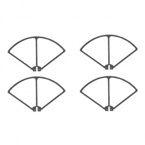 Syma X8C, X8W and X8G Drone Black Blade Guards Protection Frames Pack of 4
