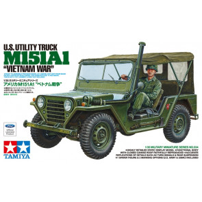 Tamiya US Ford M151A1 Vietnam War Jeep 1:35 | 35334 Plastic Model Military Kit