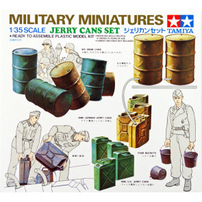 Tamiya WWII Jerry Cans Set 1:35 | 35026 Plastic Model Military Kit