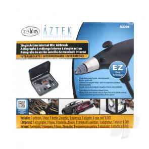 Aztek Airbrush Intermediate Single Action Internal Mix Resin