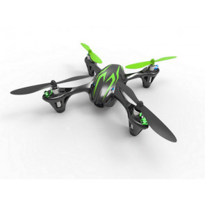 Hubsan X4 Quadcopter RTF with Video Camera and LED Lights - Black/Green