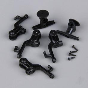 Twister Rotor Head Set including Hub / Blade Grips (for Ninja 250) (4 pcs)