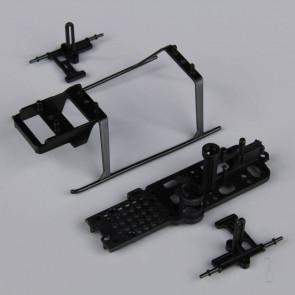 Twister Frame Set including Main Frame / Anti rotation Bracket / Skid Set (for Ninja 250) (4 pcs)